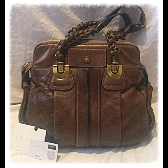 5601a04c6da0 Chloe Handbags - CHLOE  Heloise Shoulder Bag 7AS799-50